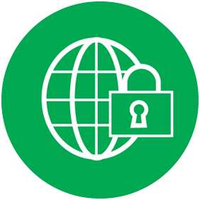 icon cyber security